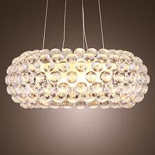 Moderno Caboche acrilico sfera lampadario lampada a soffitto pendente della luce