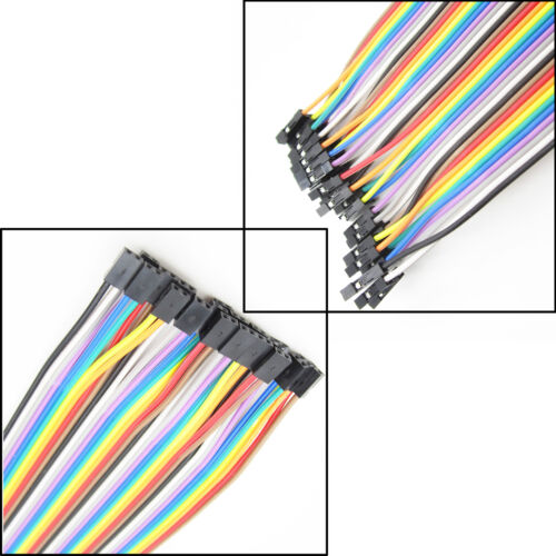 Arduino 40PCS wire cables 20cm 2.00mm to 2.54MM 2P-1P Dupont Lines Wire ASS