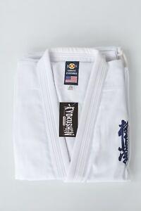 10oz-Cotton-Triple-Stitched-Kyokushin-Gi-Reg-100-Sale-69-By-Victorbudo-USA