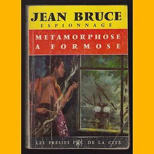 Collection-Espionnage-O-S-S-117-METAMORPHOSE-A-FORMOSE-Jean-Bruce-1964