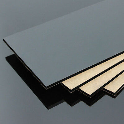 300mm 1.7mm US Stock 1pc Black Acrylic Sheets Transparent PMMA Panels 200mm