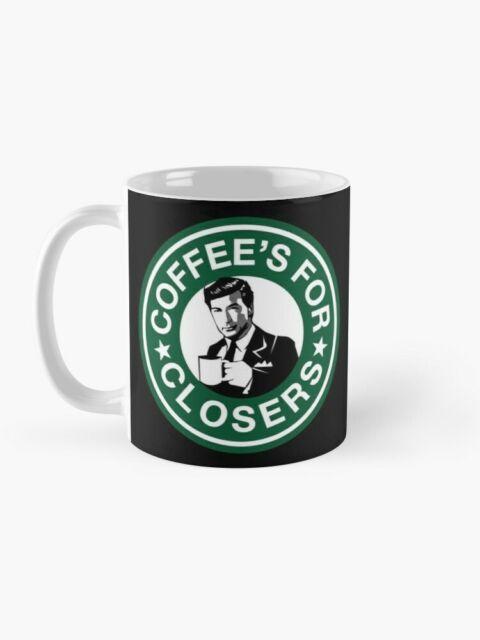 Coffee Is For Closers Starbucks Inspired Coffee Tea Mug b77-11 Oz