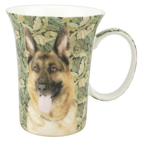 McIntosh Fine Bone China German Shepherd Crest Mug
