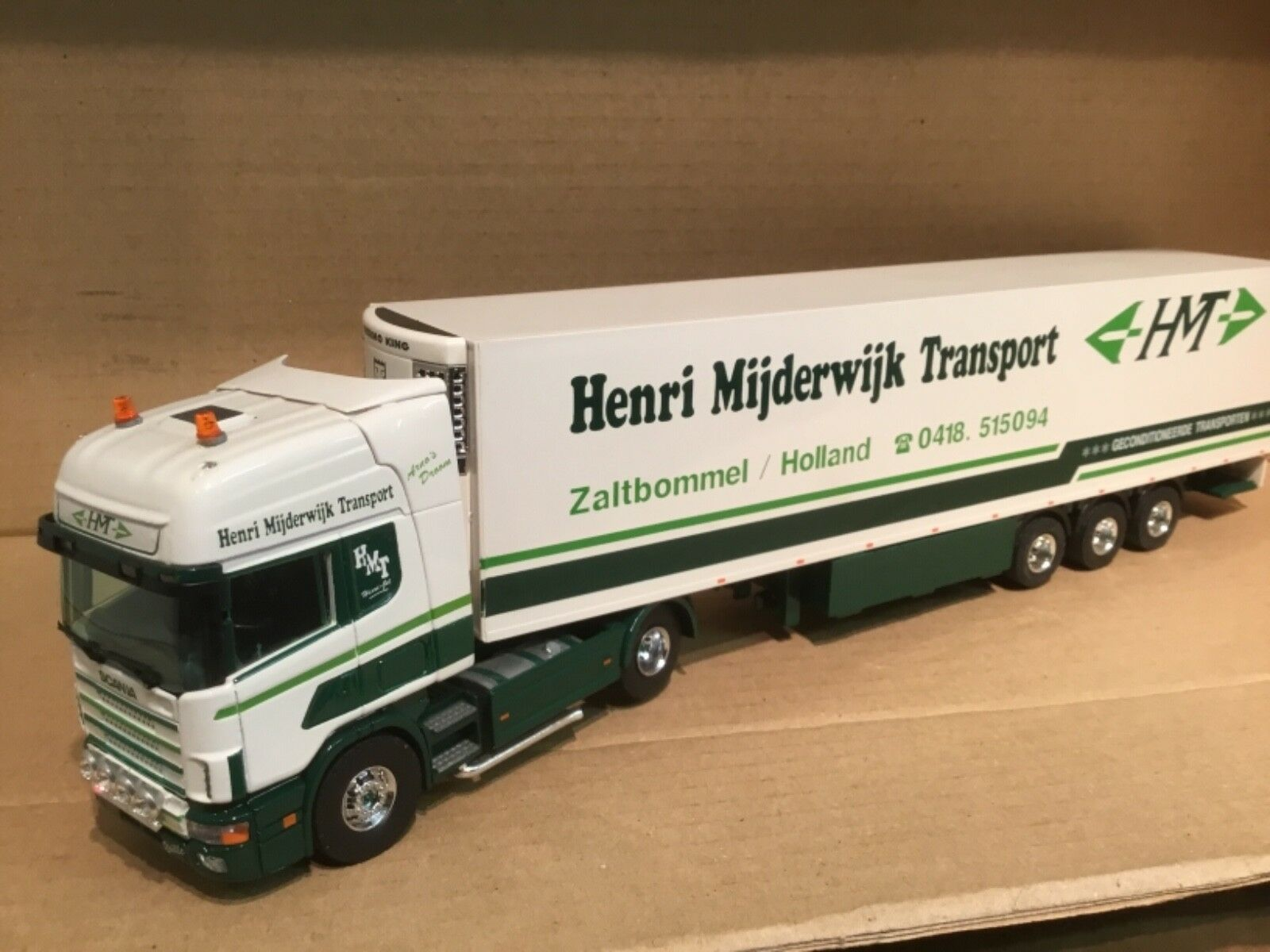 RARE TEKNO 1 50 Scania Topline Henri mijderwijk trasporto