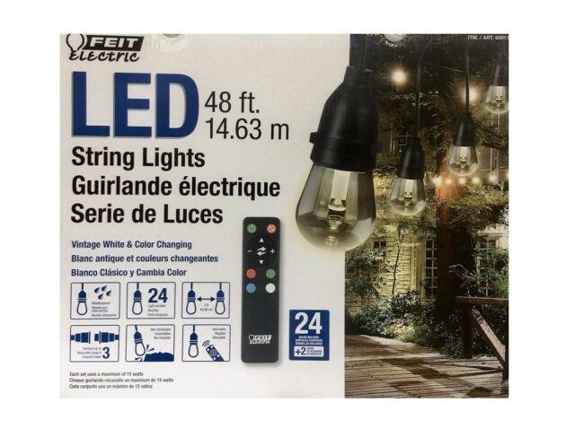 Feit Outdoor Weatherproof String Light