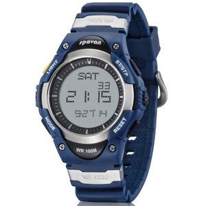 cc450d475 Image is loading Spovan-Kids-Sports-Watch-Outdoor-Waterproof-Digital-Watch-
