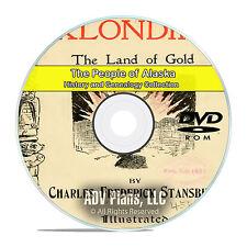 Alaska AK, People, Cities, Family History and Genealogy 62 Books DVD CD V93