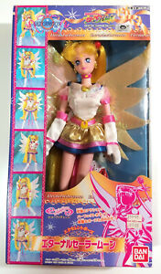 Sailor-Moon-Stars-Eternal-Excellent-Pose-Doll-Figure-Bandai-1996-OPEN-BOX