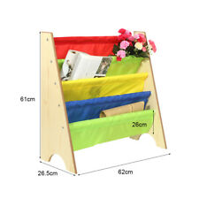 Item 1 Sling Bookcase Book Rack Shelf Storage Kids Childrenu0027s Bedroom  Playroom INCD VAT  Sling Bookcase Book Rack Shelf Storage Kids Childrenu0027s  Bedroom ...