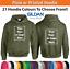 Custom-Printed-Hoodie-Unisex-Personalised-Stag-Hen-Workwear-Event-Gildan-Hoody thumbnail 1