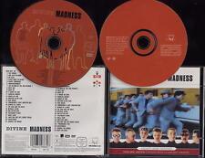 MADNESS - DIVINE MADNESS DVD + CD - DOUBLE DISC EDITION - SUGGS SKA STIFF 2 TONE