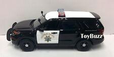 MOTOR MAX 1:24 15 FORD POLICE INTERCEPTOR UTILITY CALIFORNIA HIGHWAY PATROL CHP