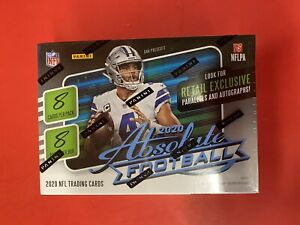 2020-Panini-Absolute-Football-Blaster-Box-Prizm-Sealed-Tua-Burrow-Herbert-KABOOM