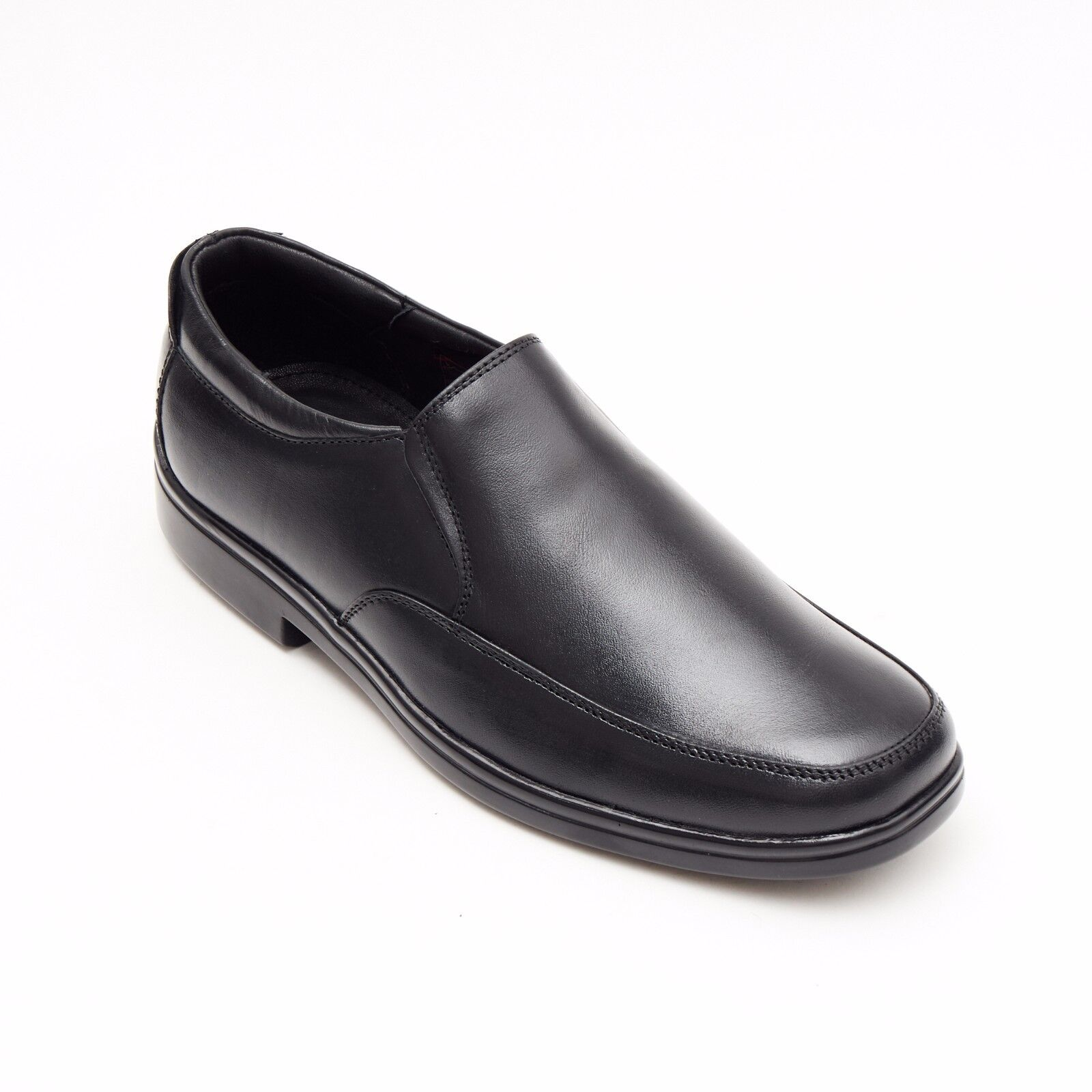 Mens Real Smart Leather Casual Formal Office Smart Real Work Slip On Shoes Size 38ba66