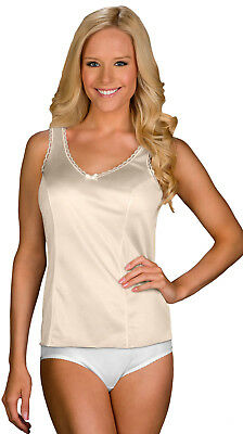 2410 Unequal In Performance Amicable Shadowline Velrose Wide Strap Camisole Camisoles & Camisole Sets