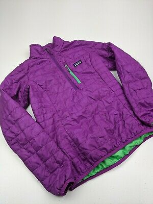 Women S Patagonia 1 4 Zip Nano Puff Pullover Quilted