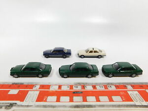 CG503-0-5-5x-Herpa-H0-1-87-PKW-Modell-Mercedes-Benz-MB-500-SE-Taxi-etc-sehr-gut
