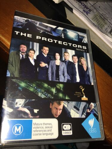 1 of 1 - The Protectors : Series 1 (DVD, 2011, 3-Disc Set) BRAND NEW AND SEALED