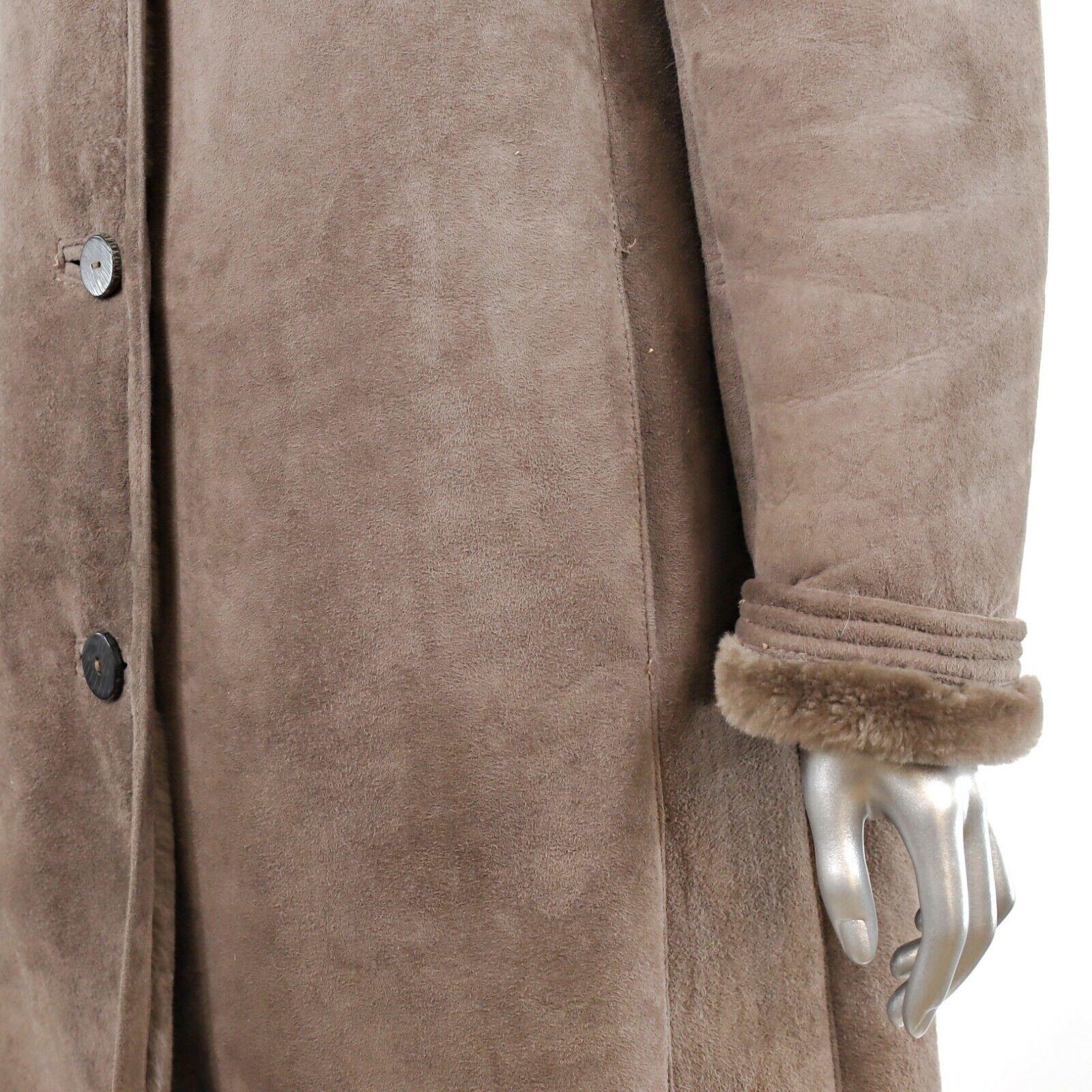 Full Length Shearling Coat- Size M-L (Vintage Fur… - image 7