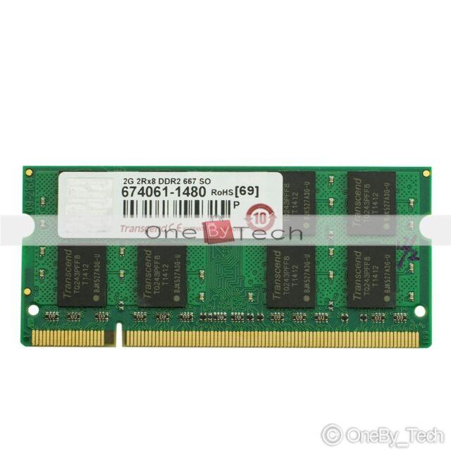 New 2GB PC2-5300 DDR2-667 667Mhz 200pin Laptop (SODIMM) Memory (RAM) 1.8v DDR2