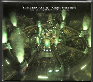 CD-MANGA-FINAL-FANTASY-VII-ORIGINAL-SOUNDTRACK-O-S-T-4-CD-COMME-NEUF