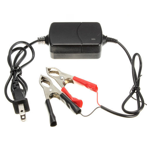 Portable 12V Motorcycle Car ATV Multi-mode Battery Charger Tender Maintainer INE