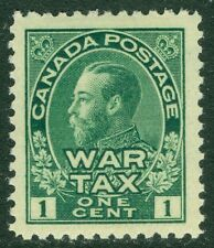 CANADA : 1915. Scott #MR1 Extra Fine, Mint Never Hinged. Huge stamp. Catalog $60