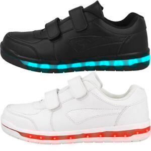 finest selection d689f 7582b Details zu KangaROOS Jeyled V SL LED Sneaker Kinder Freizeit Schuhe  Turnschuhe 18153