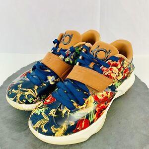 Detalles acerca de Nike KD 7 Ext Estampado Floral Zapatos Para Hombre Raro Tamaño 9 726438 400 AA12 mostrar título original