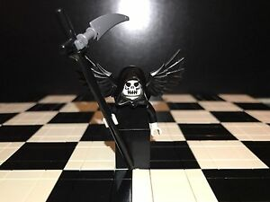 Lego Minifigure Grim Reaper Original Lego Parts - <span itemprop='availableAtOrFrom'>Huntingdon, Cambridgeshire, United Kingdom</span> - No return policy Most purchases from business sellers are protected by the Consumer Contract Regulations 2013 which give you the right to cancel the purchase within 14  - Huntingdon, Cambridgeshire, United Kingdom