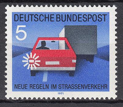 Brd 1971 Mi. Nr. 670 Postfrisch Luxus!!!