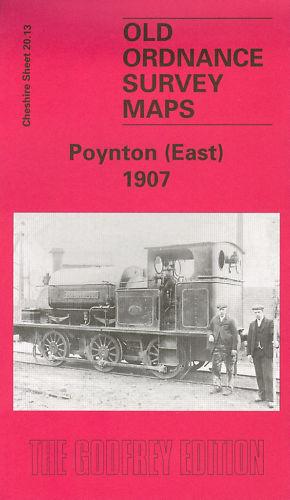 EAST 1907 MAP OF POYNTON