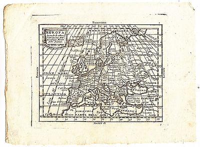 Cartina Europa 1800.O186 1800 Cartina Geografica Europa Ebay