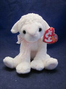 TY Beanie Babies Lullaby Lamb 2002 Easter VINTAGE NEW with TAG