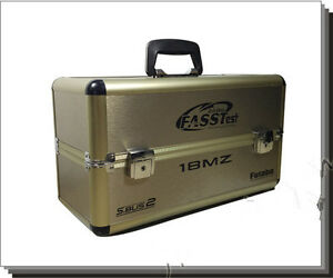 Dual-Remote-Control-Aluminium-Case-Box-for-futaba-18MZ-10C-8FG-8J-T6K-14SG-10J
