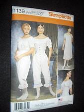 Civil War Underwear Simplicity 1139 Pattern Size 14-20 Chemise Drawers Corset