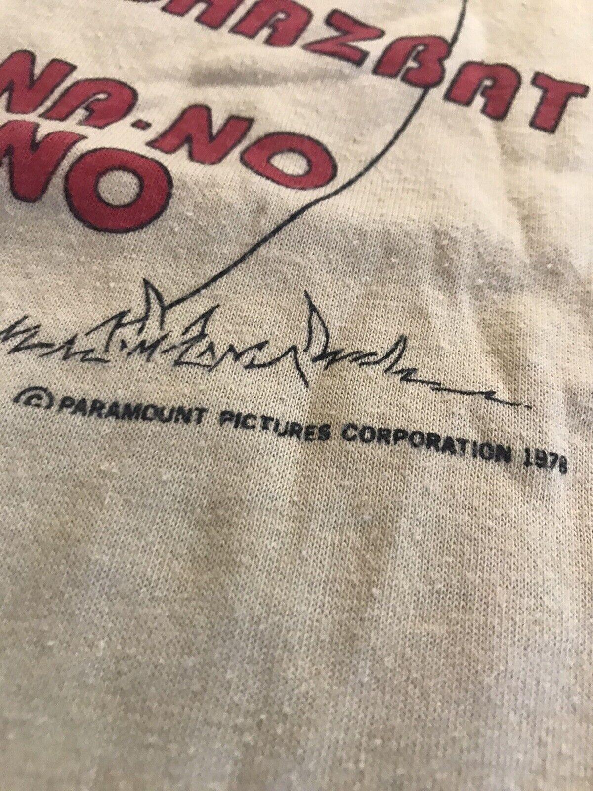 1978 Dated Robin Williams Mork Mindy Vintage Shir… - image 2