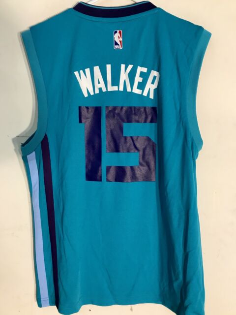 c2c7acd9ece adidas NBA Jersey Charlotte Hornets Kemba Walker Teal Sz 2x
