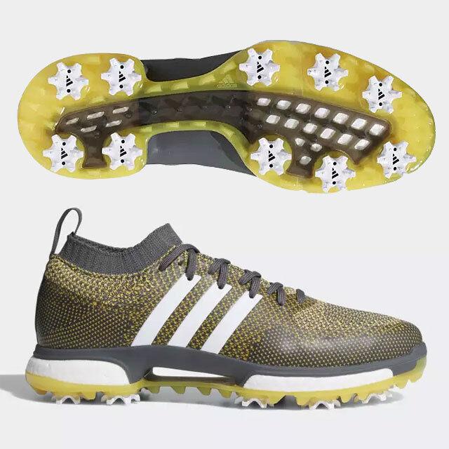 Adidas uomini a scarpe da golf tour 360 / aumentare dimensioni: us10.5 grigio / 360 bianco / giallo 19150 0f1060