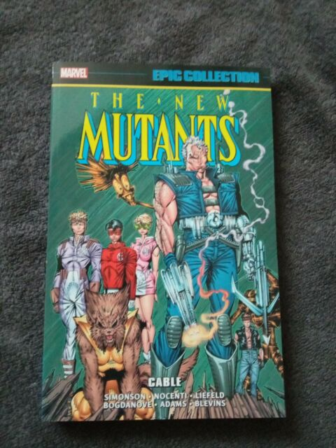 New Mutants Cable Marve Epic Collection Graphic Novel Paperback New