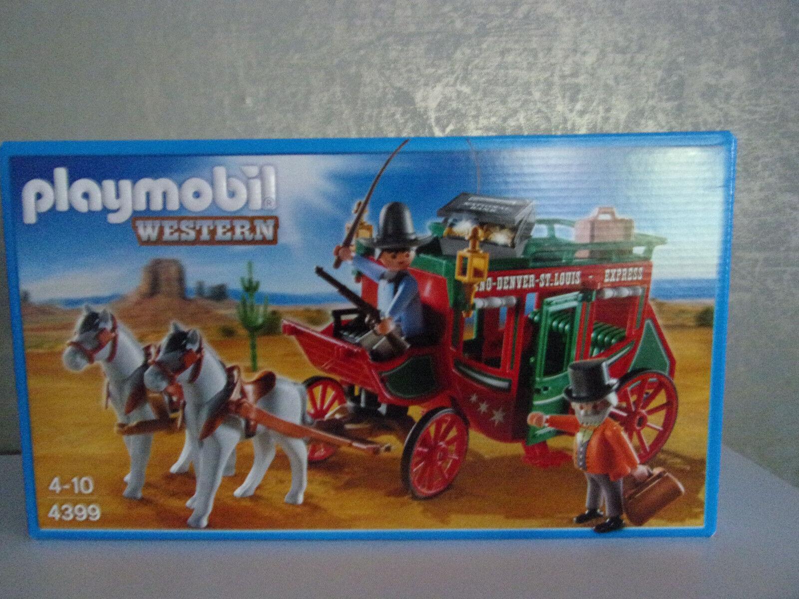 Playmobil OCCIDENTALE 4399 carovana della posta - NUOVO E IN CONFEZIONE
