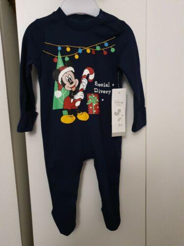 Baby Boy Girl Christmas Baby Grow Disney Baby 0-3 Months