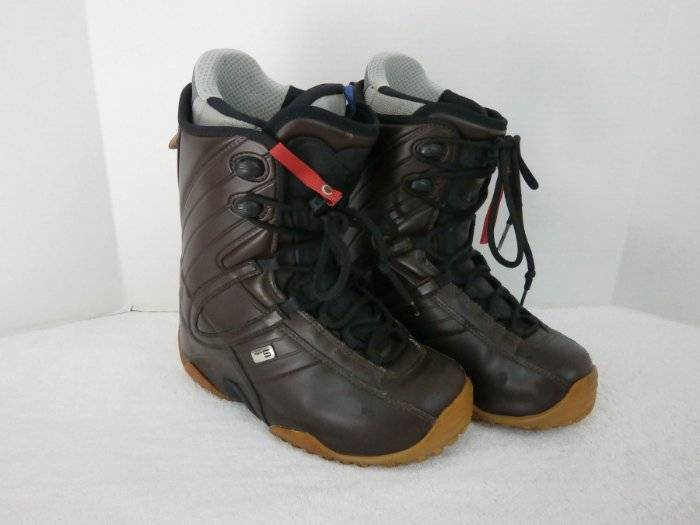 Northwave APX5 Snowboard Boots Mens 9 Brown Vinyl with Liner Boots