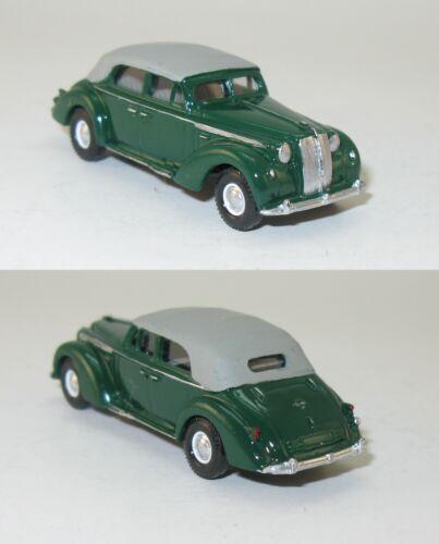 OPEL ADMIRAL AD-38 4-türig Cabriolet geschlossen 1938-1:87 H0