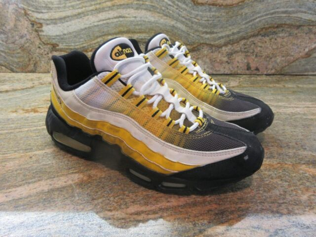 2005 Nike Air Max 95 Premium Sample SZ 9 Varsity Maize Black Yellow 609048 711
