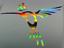 Holographic Tribal Hummingbird Car Vinyl Window Decal Sticker