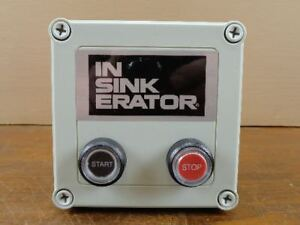 Unused-Insinkerator-MS-4-Garbage-Disposer-Control-Center-Switch-14356-120V