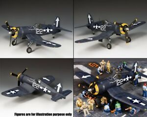 KING-amp-COUNTRY-U-S-NAVY-USN023-WW2-NAVY-F4U-CORSAIR-FIGHTER-MIB