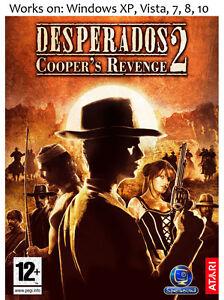 Desperados 2 Cooper S Revenge Pc Game Windows Xp Vista 7 8 10 Ebay