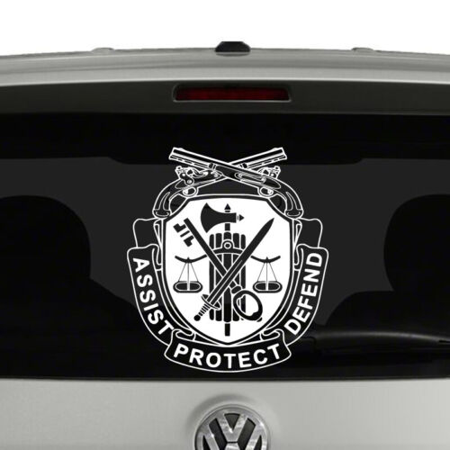 Military Police Regiment Insignia United States Army Vinyl Decal Sticker